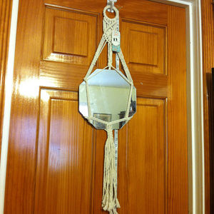 Other - Macrame Wall Hanging Mirror